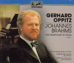 Brahms - Complete Works For Piano Disc 5 - Gerhard Oppitz