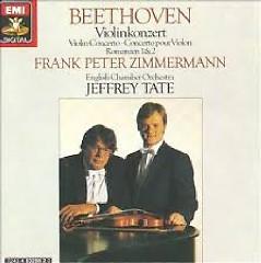 Beethoven - Violin Concerto; Romances Nos. 1 & 2 - Jeffrey Tate,Frank Peter Zimmermann