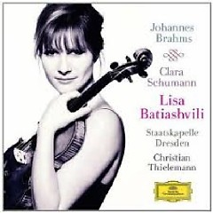 Johannes Brahms - Violin Concerto; Clara Schumann - 3 Romances, Op. 22 - Christian Thielemann,Dresden Staatskapelle Orchestra