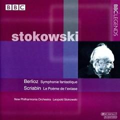 Berlioz - Symphonie Fantastique; Scriabin - Le Poem de L'extase  - Leopold Stokowski,New Philharmonia Orchestra