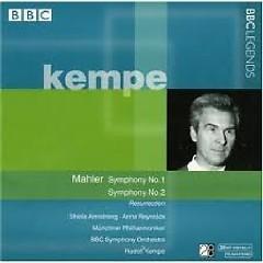 Mahler - Symphonies Nos 1 & 2 Disc 2 - Rudolf Kempe,BBC Symphony Orchestra