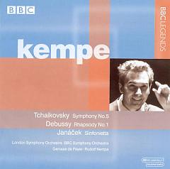 Kempe Conducts Tchaikovsky, Debussy, Janácek - Rudolf Kempe,BBC Symphony Orchestra