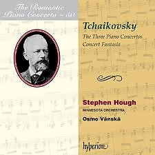 The Romantic Piano Concerto, Vol. 50 – Tchaikovsky CD1