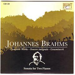 Johannes Brahms Edition: Complete Works (CD23)