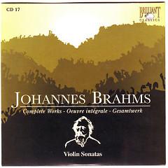 Johannes Brahms Edition: Complete Works (CD17)