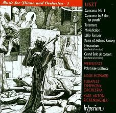 Liszt Complete Music For Solo Piano Vol.53A - Music for Piano and Orchestra - I Disc 1