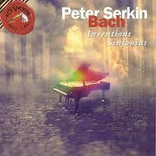 J S Bach Inventions Sinfonias Disc 3 - Peter Serkin