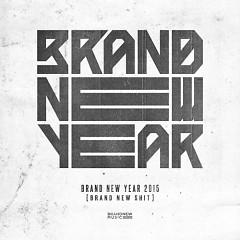 BRAND NEW YEAR 2015 'BRAND NEW SHIT'
