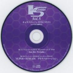 Infinite Stratos Vol.5 Character Song CD (Laura) - Marina Inoue