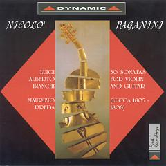 Paganini Sonate Di Lucca Per Violino E Chitarra CDS - Nicolo' Paganini