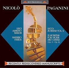 Lucca Sonatas (Vol.2)CD2 - Nicolo' Paganini