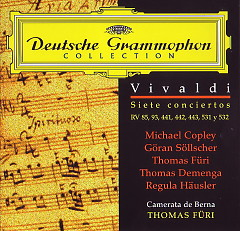 Concerti (Camerata Bern  Thomas Furi)