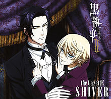 Kuroshitsuji II Edition Cover: Shiver - The Gazette