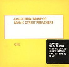 Everything Must Go Remix CD