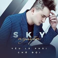 Yêu Là Phải Chờ Đợi (Single) - Sky Nguyễn