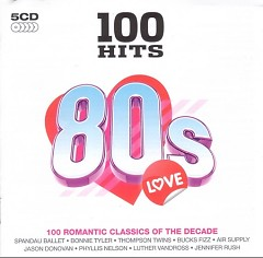 100 Hits 80s Love (CD5)