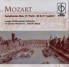 Mozart Symphonies Nos. 31 Paris 40 & 41 Jupiter - Charles Mackerras