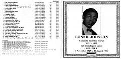 Complete Recorded Works 1925 ~ 1932 Vol.1 (CD2) - Lonnie Johnson