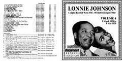 Complete Recorded Works 1925 ~ 1932 Vol.4 (CD2) - Lonnie Johnson