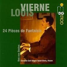 Vierne - 24 Pièces de Fantasie CD2 - Ben Van Oosten