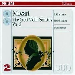 Mozart - The Great Violin Sonatas CD 4 - Ingrid Haebler,Henryk Szeryng