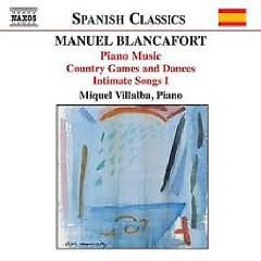 Manuel Blancafort Piano Music CD 2 No. 1 - Miquel Villalba