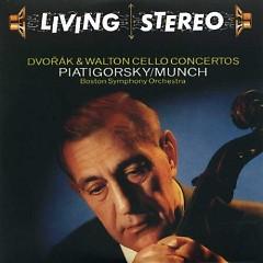 Living Stereo 60CD Collection - CD18 Dvorak & Walton Cello Concertos
