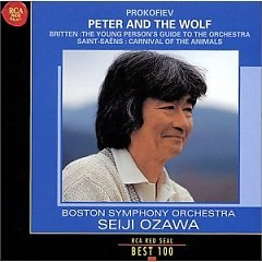RCA Best 100 CD 77 - Prokofiev Peter And The Wolf