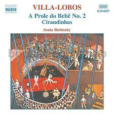 Villa Lobos Piano Music CD 2 No. 2
