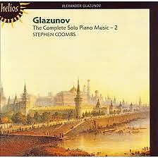 Glazunov The Complete Solo Piano Music CD 2 No. 1 - Stephen Coombs