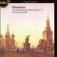 Glazunov The Complete Solo Piano Music CD 4 - Stephen Coombs
