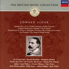 The British Music Collection - Edward Elgar CD 3