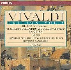 Vivaldi Edition Vol. 2 - Op.7 - 12 Disc 7 (No. 1) - Severino Gazzelloni,I Musici