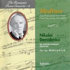 The Romantic Piano Concerto, Vol. 02 – Medtner 2 & 3  - Nikolai Demidenko,BBC Scottish Symphony Orchestra,Jerzy Maksymiuk