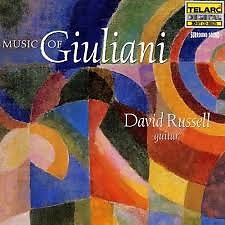 Music Of Giuliani - David Russell
