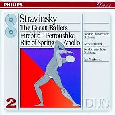 Stravinsky - The Great Ballets CD 1 (No. 1) - Igor Markevitch,Bernard Haitink,London Symphony Orchestra