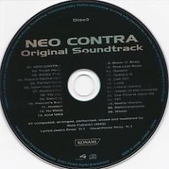 NEO CONTRA Original Soundtrack (CD1) - Sota Fujimori