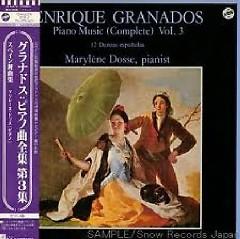 The Piano Music Of Granados Vol 3