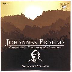 Johannes Brahms Edition: Complete Works (CD3)