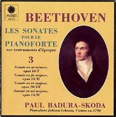 Beethoven - Les Sonates Pour Le Pianoforte Sur Instruments D'epoque CD 3