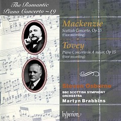 The Romantic Piano Concerto, Vol. 19 – Mackenzie & Tovey