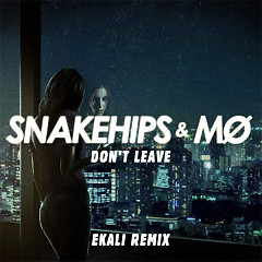 Don't Leave (Ekali Remix) (Single) - Snakehips, MØ
