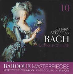 Baroque Masterpieces CD 10 - Bach Works For Lute - Julian Bream