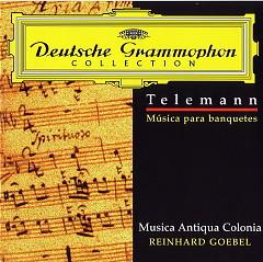 Tafelmusik, Trios Und Quartette  Goebel