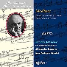 The Romantic Piano Concerto, Vol. 08 – Medtner 1 & Quintet  - Dmitri Alexeev,BBC Scottish Symphony Orchestra,Alexander Lazarev