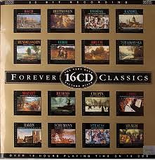 Forever Classics Bach  CD 01
