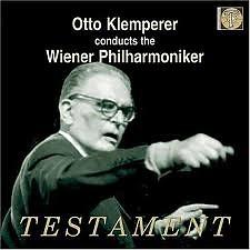 Otto Klemperer, Wiener Philharmoniker: Live Broadcast Performances Disc 1