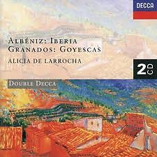 Albéniz: Iberia; Granados: Goyescas CD2 - Alicia De Larrocha