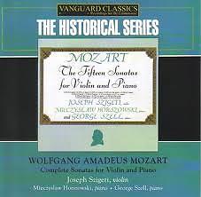Mozart Complete Sonatas For Violin And Piano CD4 - George Szell,Joseph Szigeti,Mieczyslaw Horszowski