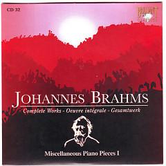 Johannes Brahms Edition: Complete Works (CD32)